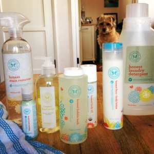 Just a glimpse at some of the Honest products I use